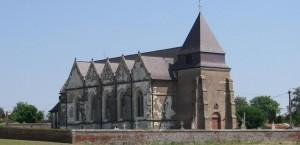 Eglise Saint-Quentin, Brissay-Choigny