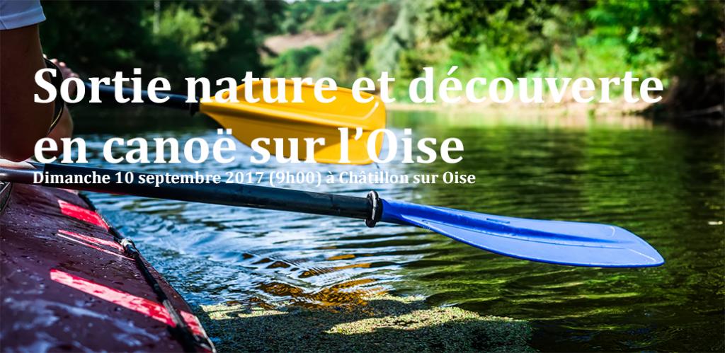 Sortie nature et découverte en canoë sur l'Oise