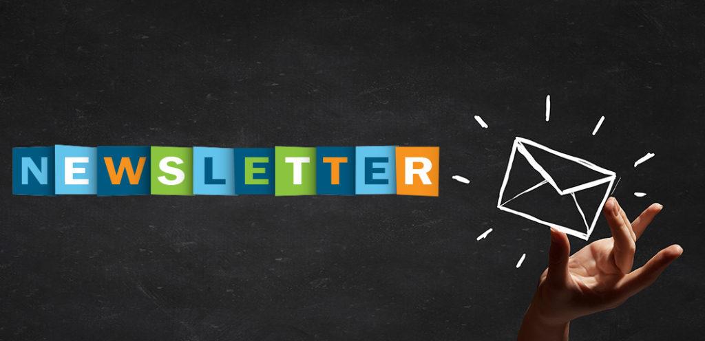 Inscrivez-vous à nos Newsletters !