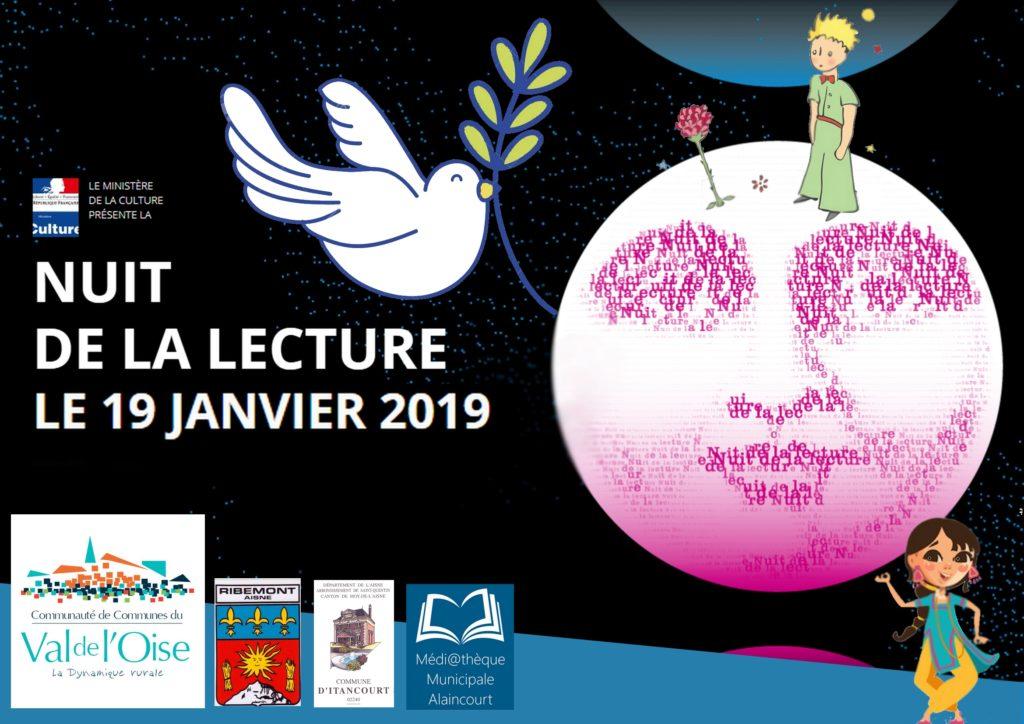 La Nuit De La Lecture 19 janvier 2019